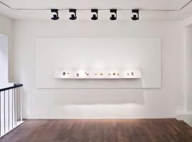 Detalje fra udstilling i Goldfingers