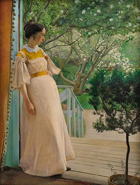 Maleri af P. RIng - et af billederne, der kan bruges til inspiration til Shapeways smykkekonkurrence.