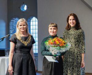 Vinderen af Skt. Loye Prsien 2015 Christine Bukkehave