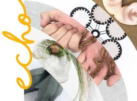 Udstillingen Echo under Munich Jewellery week hvor Mette Saabye og Josefine Rønsholt Smith udstiller og kuraterer