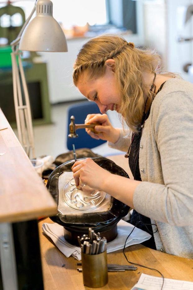 Stine Høgsted Pedersen fik sølvmedalje til årets medaljefest på Københavns Rådhus 2018