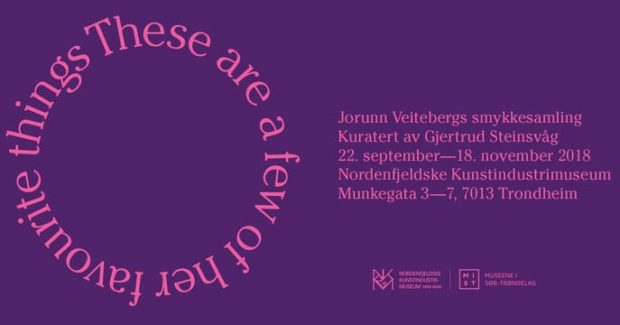 Jorunn Veiteberg udstiller sin kæmpe smykkekunst-samling i Trondheim