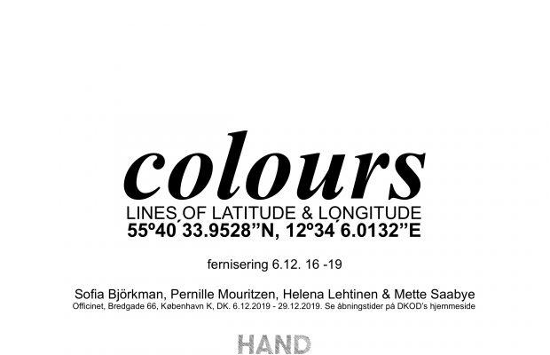 """Udstilling """"Colors"""" i Officinet åbner den 6. december 2019"""